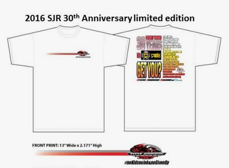 2016 SJR 30th Anniverary Racing